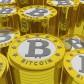 bitcoins background