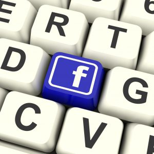 Facebook Key Means Connect To Face Book